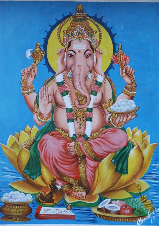Ganesh or Ganesha, Remover of Obstacles
