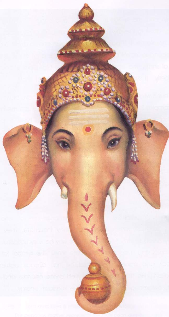 Ganesh or Ganesha, Remover of Obstacles.